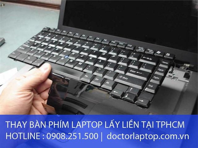 Thay bàn phím laptop - 1