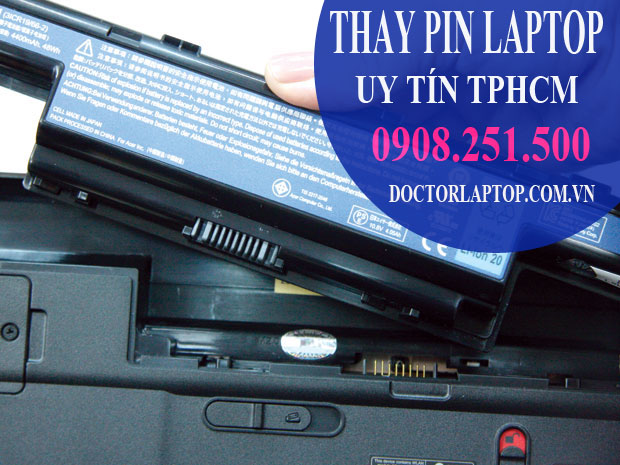 Thay pin laptop - 1