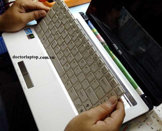 Thay bàn phím laptop asus - 1