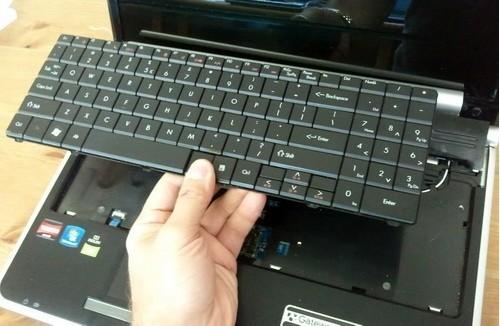 Thay bàn phím laptop dell - 1