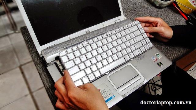 Thay bàn phím laptop hp - compag - 1