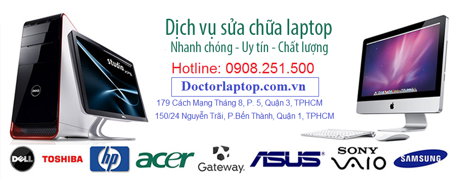 Giá sửa chữa laptop tại tphcm - 1