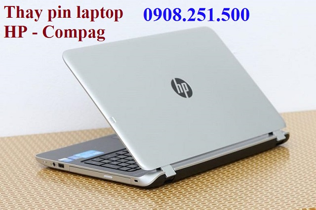 Thay pin laptop hp - compag - 1