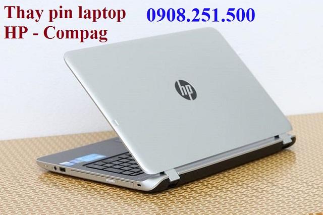 Thay pin laptop hp - compag - 1