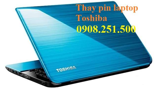 Thay pin laptop toshiba - 1