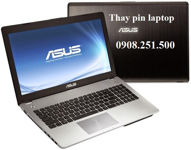 Thay pin laptop asus - 1