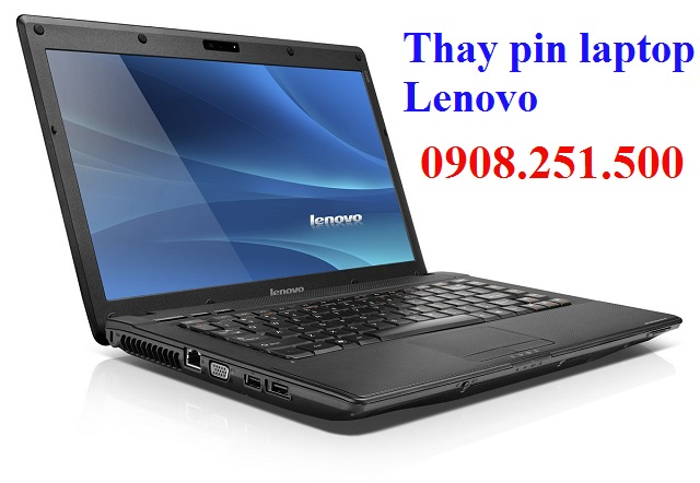 Thay pin laptop lenovo - 1