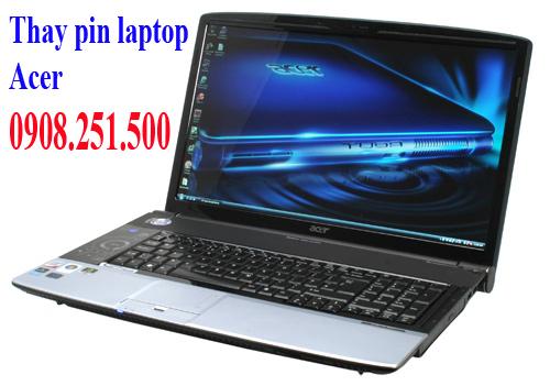 Thay pin laptop acer - 1