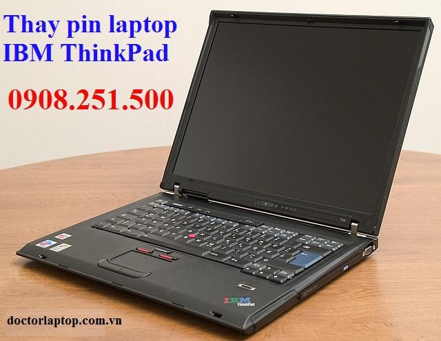 Thay pin laptop ibm thinkpad - 1