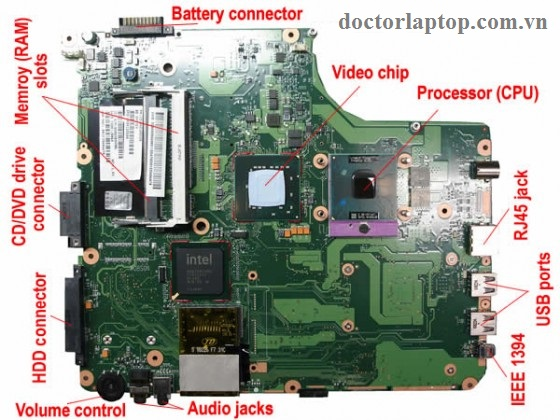 Sửa main laptop - 2