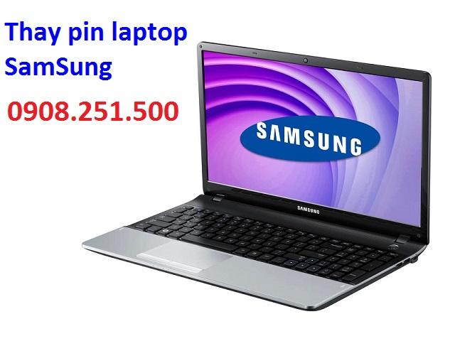 Thay pin laptop samsung - 1