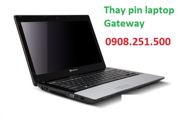 Thay pin laptop gateway - 1