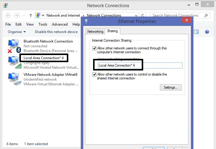 Cách phát wifi trên laptop windows 10 đơn giản - 6