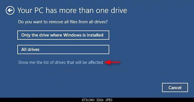 Reset windows 10 khôi phục về ban đầu không cần dùng đĩa - 4