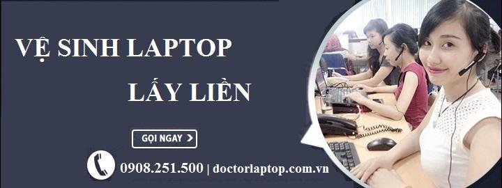 Vệ sinh laptop lấy liền tphcm - 1