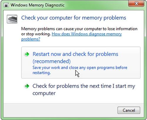 Cách kiểm tra lỗi bộ nhớ ram và hướng khắc phục - 2