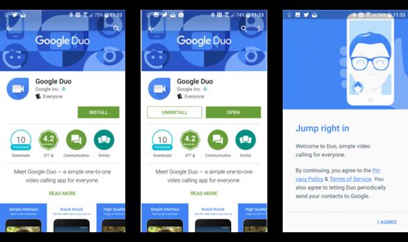 Google duo là gì cách sử dụng google duo khác gì hangout - 3