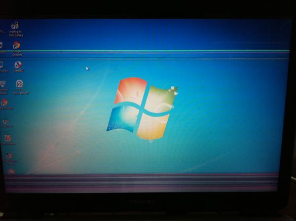Màn hình laptop bị sọc dọc sọc ngang khắc phục bằng cách nào - 2