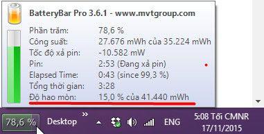 Cách kiểm tra pin laptop có bị chai bằng gõ lệnh trên windows - 9