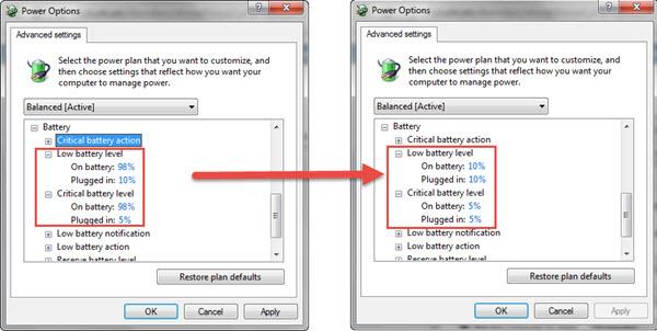 Cách khắc phục lỗi pin laptop bị dấu gạch chéo x màu đỏ - 2