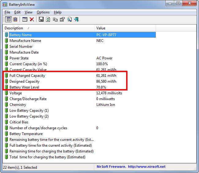 Làm thế nào để biết pin laptop bị chai - 3