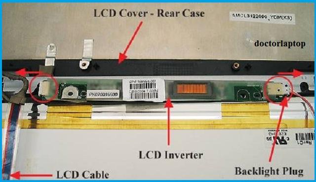 Sửa màn hình laptop bị tối mờ do hỏng cao áp tại tphcm - 2