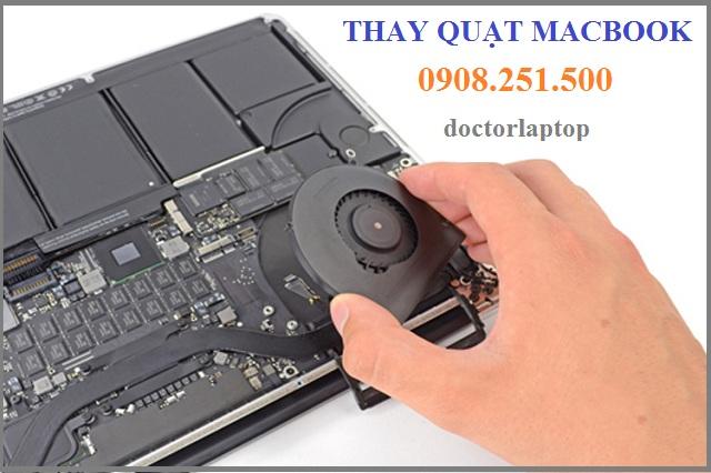 Thay quạt macbook - 1