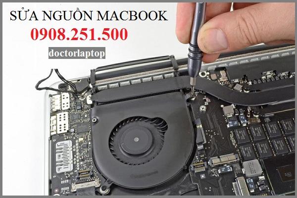 Sửa nguồn macbook - 1