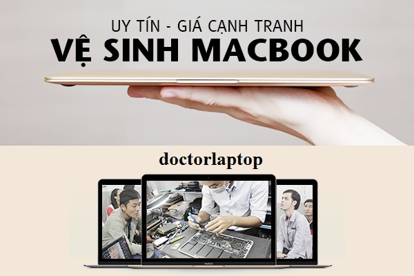 Vệ sinh macbook hcm - 1