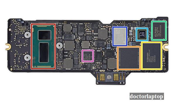 Sửa mainboard macbook - 2