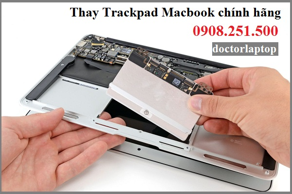 Thay trackpad macbook pro air retina - 1