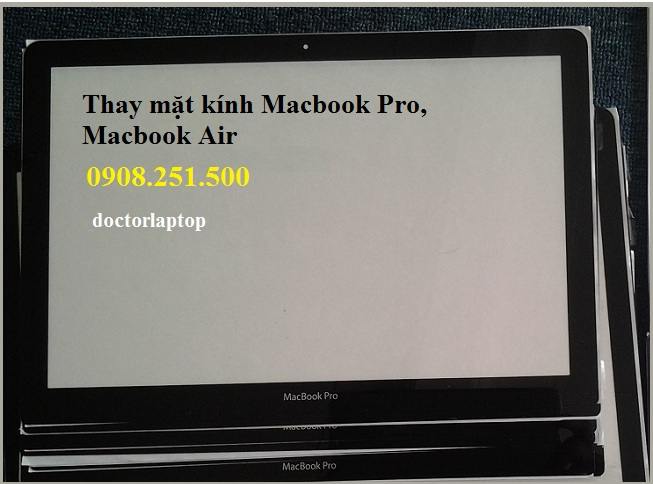 Thay mặt kính macbook pro air retina - 3