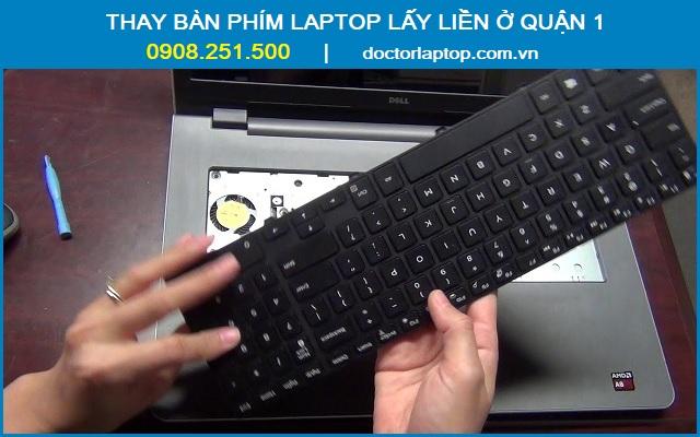 Thay bàn phím laptop quận 1 - 1