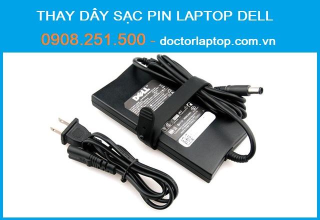 Thay dây sạc pin laptop dell - 1