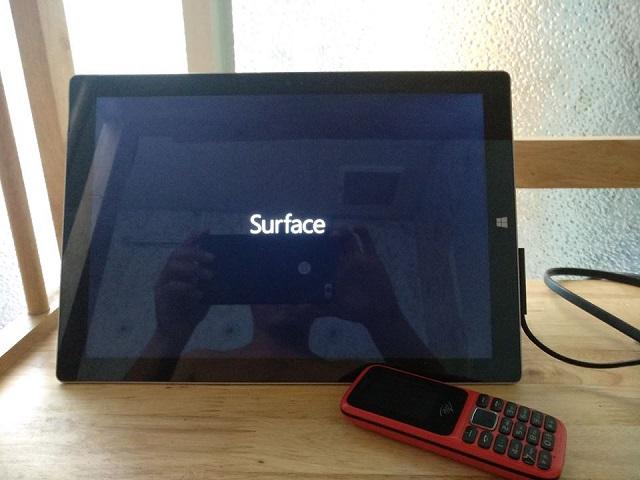 Sửa surface pro bị treo logo - 2