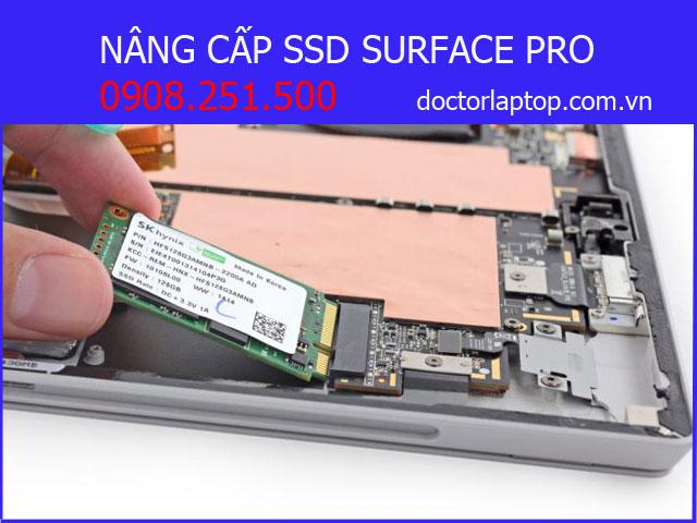Nâng cấp ssd surface pro - 1