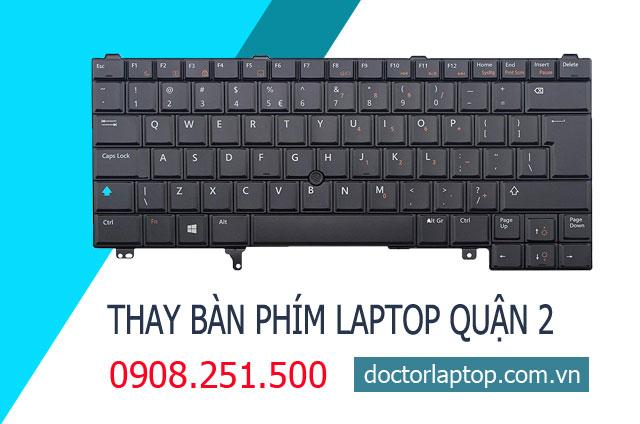 Thay bàn phím laptop quận 2 hcm - 1
