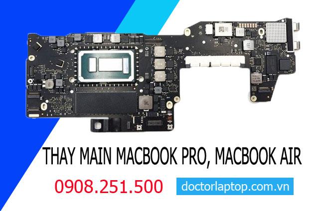 Thay mainboard macbook - 1