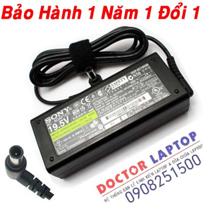 Adapter Sony Vaio VGN-SZ480 Laptop (ORIGINAL) - Sạc Sony Vaio VGN-SZ480