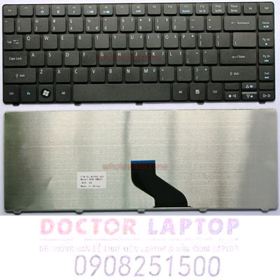 Bàn Phím Acer 8472, 8472G TravelMate Laptop