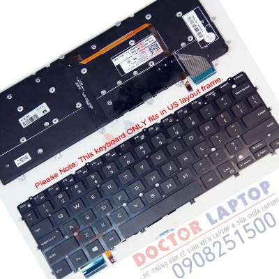 Bàn Phím Dell 7359 7359D Laptop - Keyboard Dell Vostro Inspiron Latitude