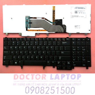 Bàn Phím Dell E6520 Latitude laptop
