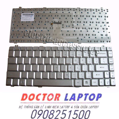 Bàn Phím Gateway M-150, M-150S Laptop