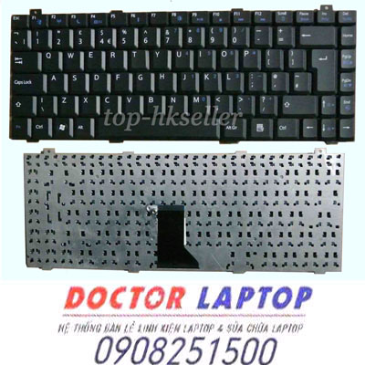 Bàn Phím Gateway M-6332, M-6333, M-6334 Laptop