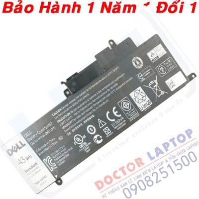 Pin Dell 7359 7359D Laptop battery Dell