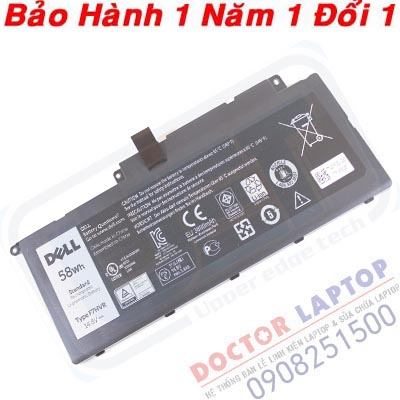 Pin Dell 7547 7547D Laptop battery Dell
