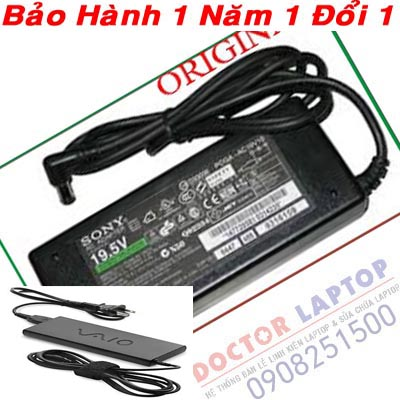Sạc Sony Vaio SVE15136CVW Laptop Adapter ( Original )