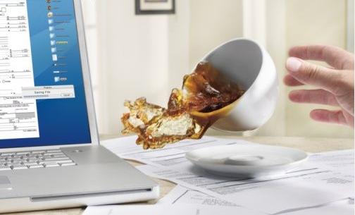 Cấp cứu laptop bị vô nước nhanh chóng, đúng cách hiệu quả