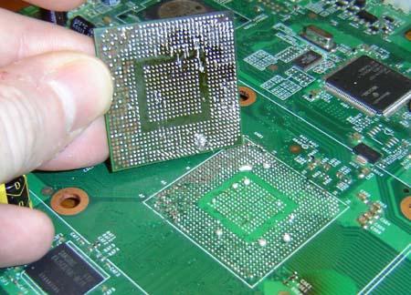 Cách nhận biết laptop lỗi chip VGA, nguyên nhân và cách khắc phục