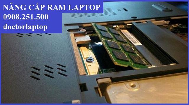 Nâng cấp RAM laptop ở đâu giá rẻ tại tphcm?